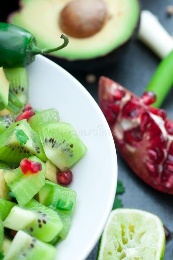 Salsa de kiwi images stock