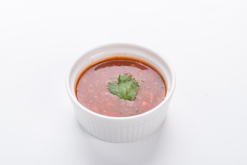 Salsa De Sukiyaki Para El Pote Caliente Japones Imagen De Archivo Imagen De Aperitivo Chile 124164099