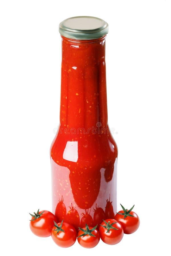 Salsa de tomate, tomate, salsa foto de archivo libre de regalías