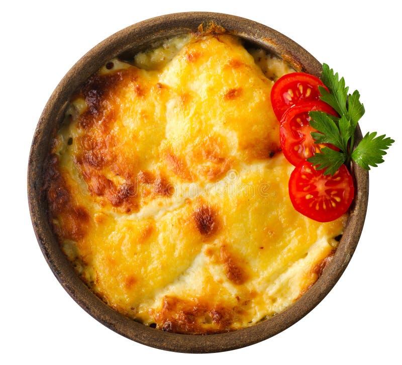 Salsa del queso y de tomate fotografía de archivo libre de regalías