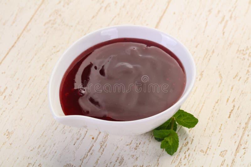 Salsa dell'uva di monte di Delicous fotografia stock libera da diritti