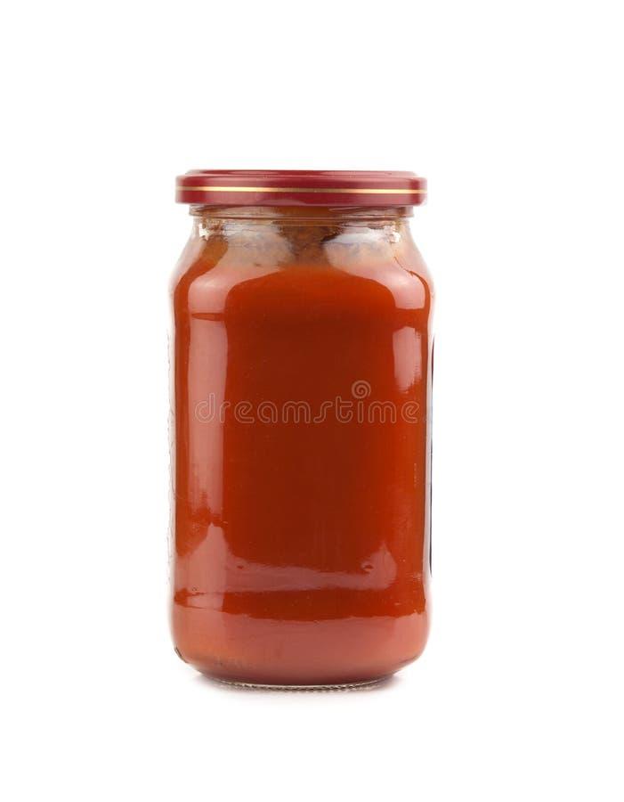 Salsa di pomodori immagini stock libere da diritti