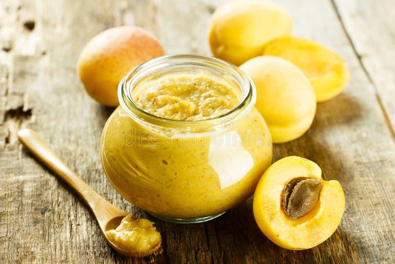 Salsa di senape casalinga della frutta immagini stock