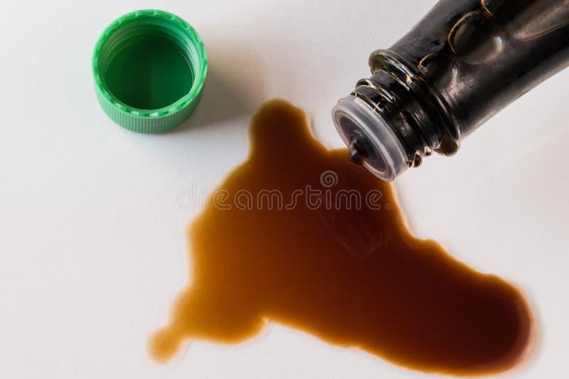 Salsa di soia immagine stock