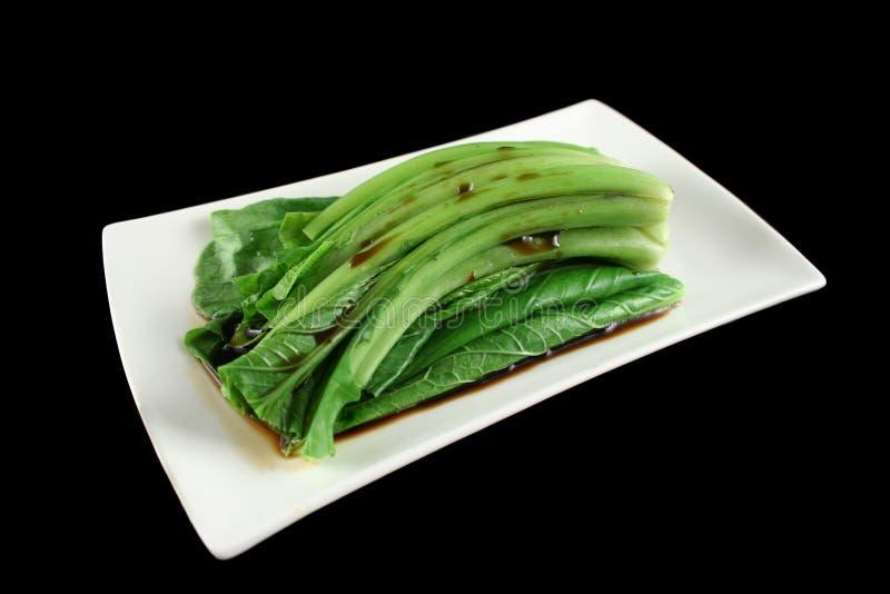 Salsa di soia sulla somma 2 di Choy immagini stock libere da diritti