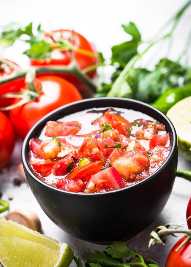 Salsa kumberlandu meksykanina jedzenie zdjęcia royalty free