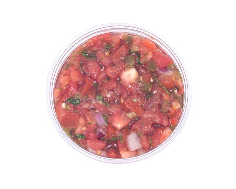 Salsa Pico De加洛 库存图片