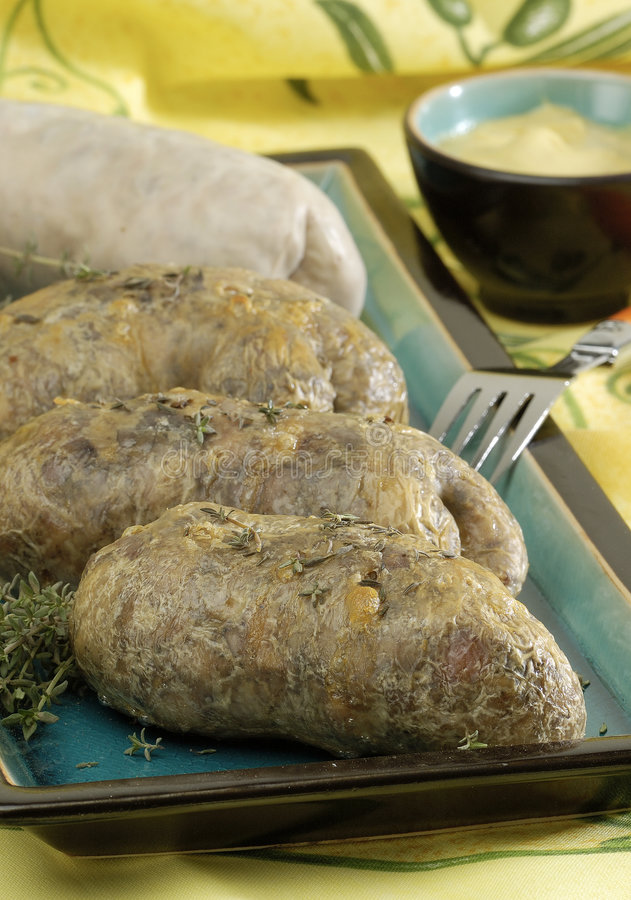 Salsiccia di Andouillettes fotografia stock