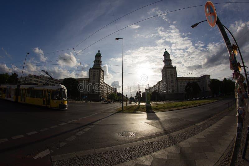 Salsiccia di Francoforte Tor Berlin, Germania fotografia stock libera da diritti