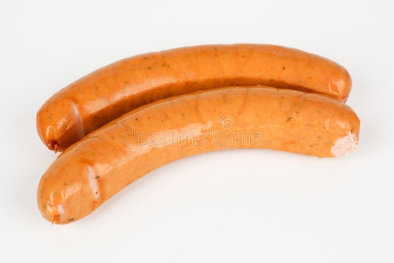 Salsiccia polacca piccante affumicata immagini stock libere da diritti