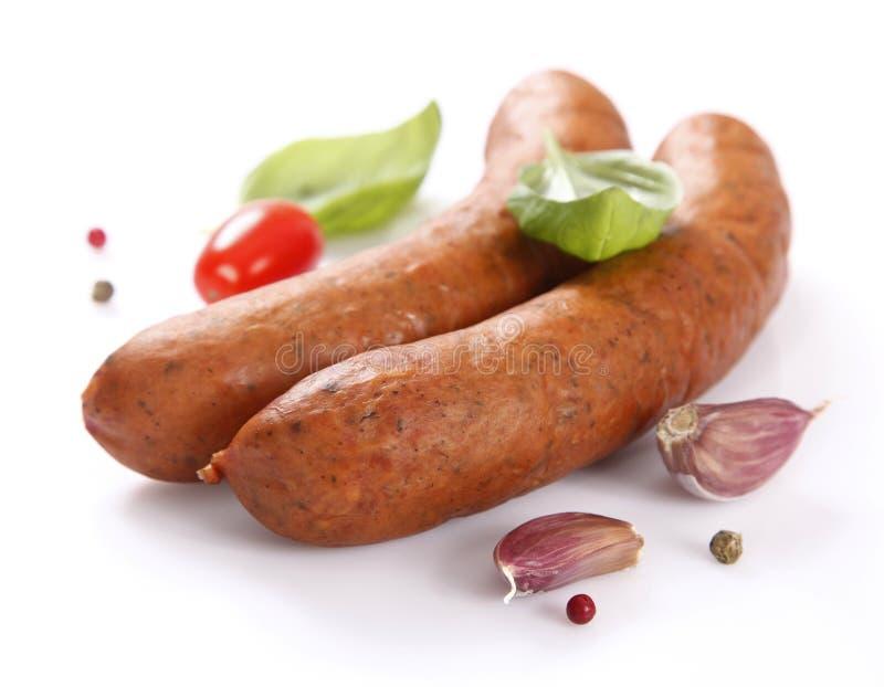 Salsiccia saporita immagine stock