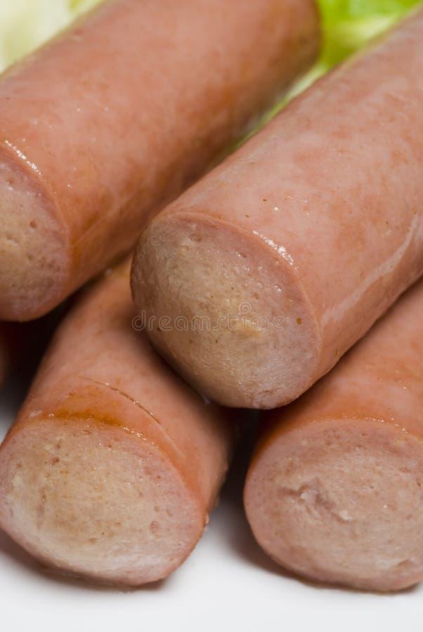Salsiccia viennese fotografia stock