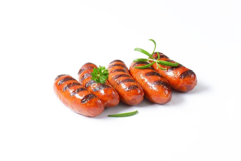 Download Salsiccie cotte fotografia stock. Immagine di prodotto - 55362598