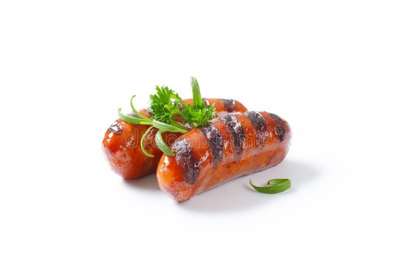 Download Salsiccie cotte fotografia stock. Immagine di tedesco - 55362624