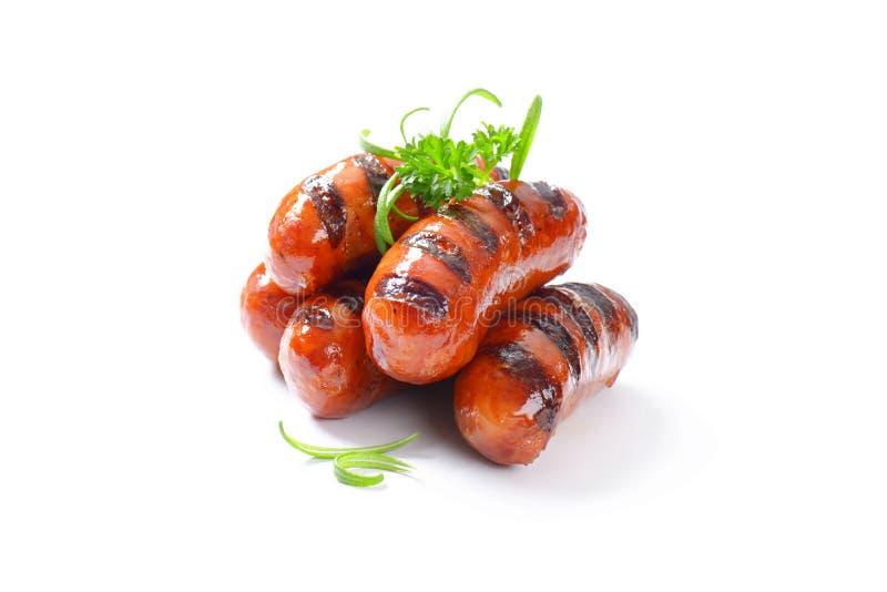 Download Salsiccie cotte fotografia stock. Immagine di cotto, pila - 55362640