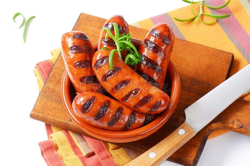 Download Salsiccie cotte immagine stock. Immagine di barbecue - 55362671