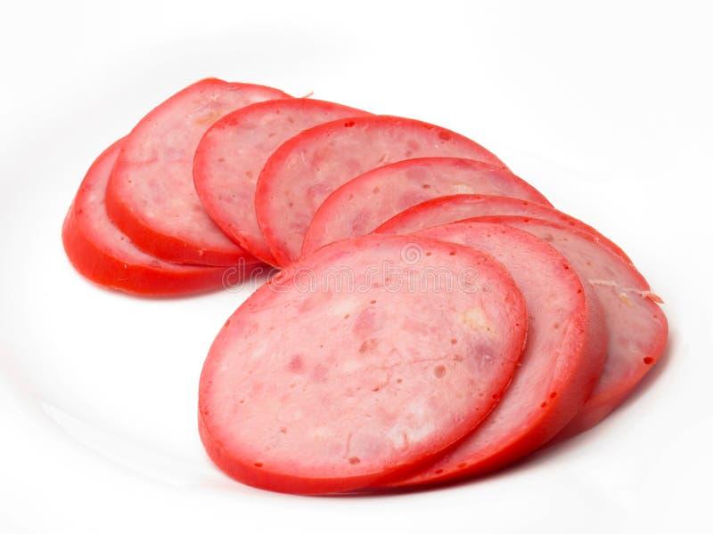 Download Salsicha foto de stock. Imagem de negócio, sausage, fatia - 26520282