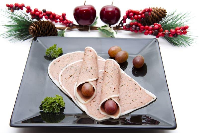 Salsicha e salsa de fígado fotos de stock