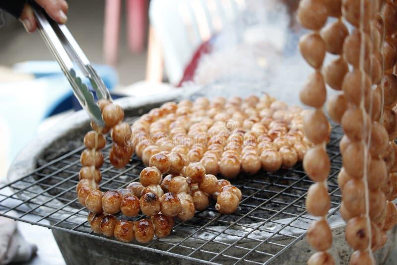 Salsicha tailandesa imagem de stock royalty free