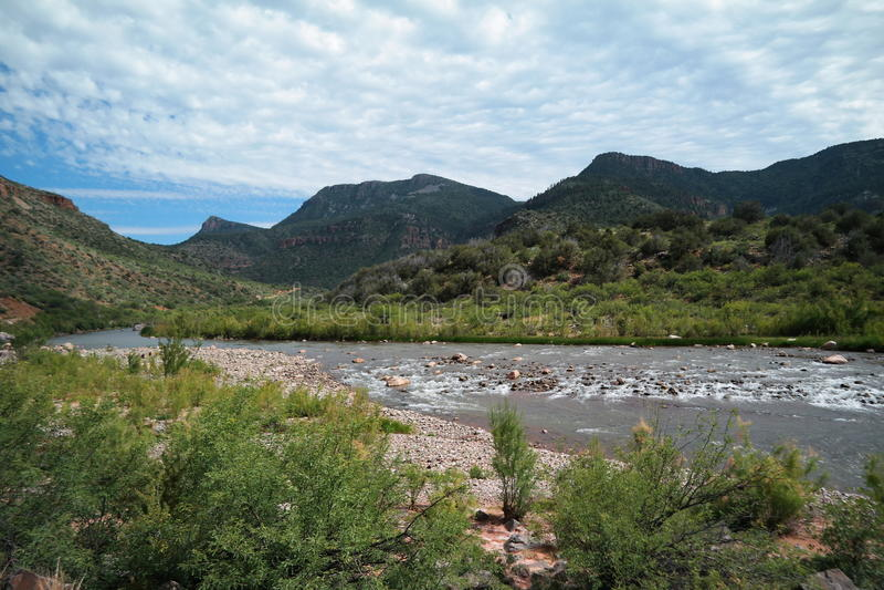 Salt河峡谷 库存图片