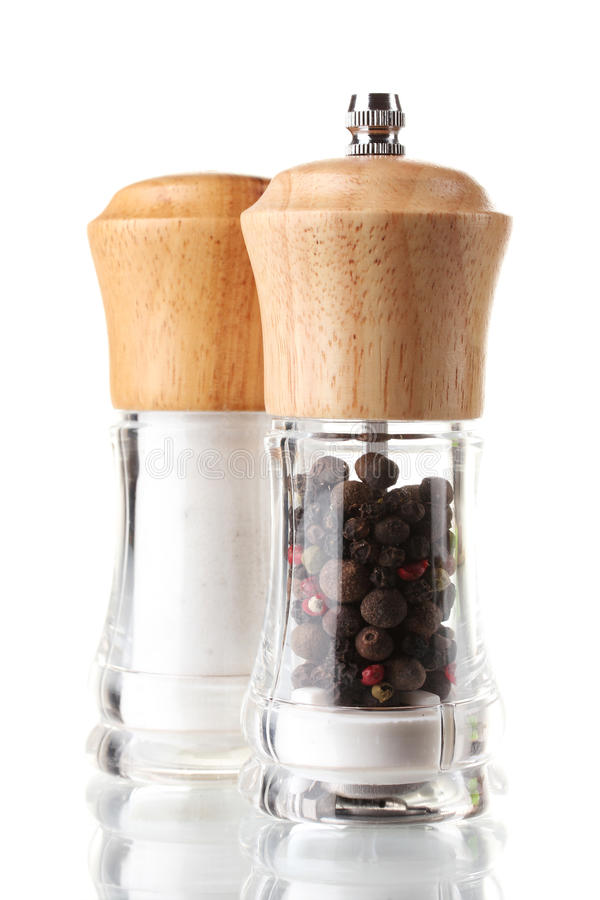 Free Salt And Pepper Mills Royalty Free Stock Images - 23860599