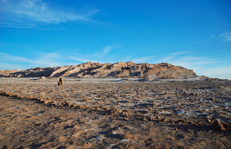 Salt Atacama desert stock images