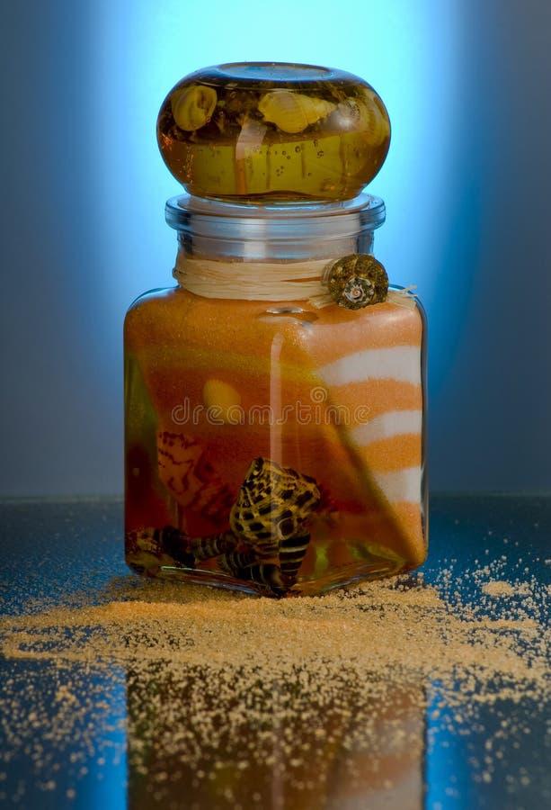 salt bad arkivbild