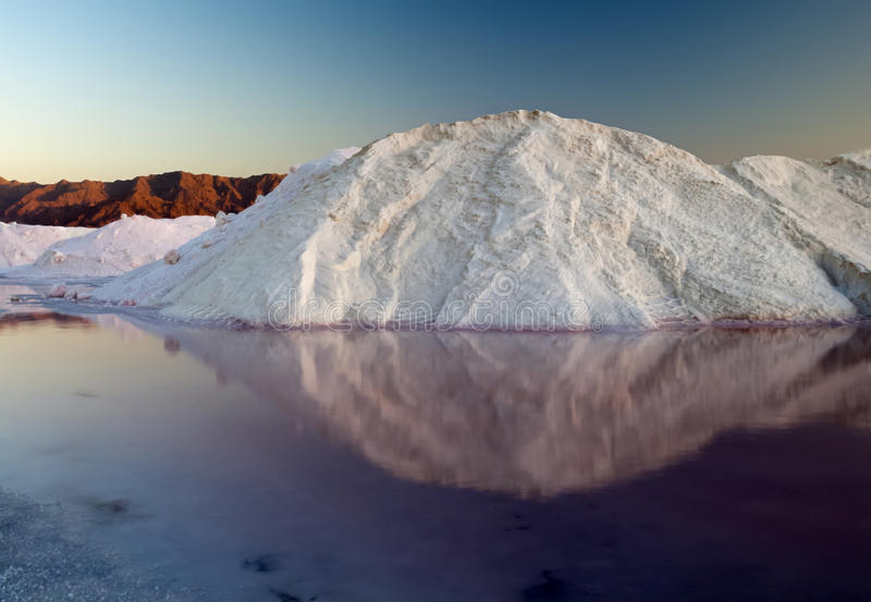 Salt of Dead Sea royalty free stock photo
