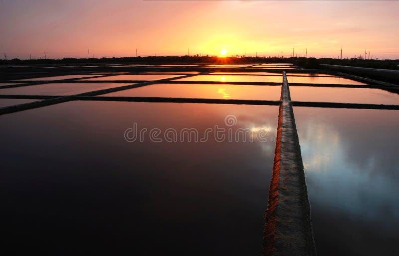 Download Salt Field Sunset Stock Photos - Image: 8598873