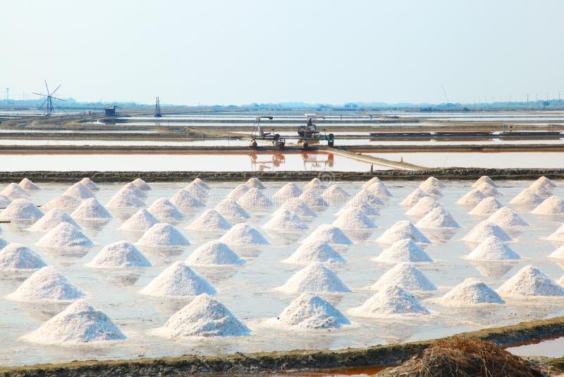 Salt field in Thailand