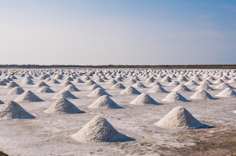 Download Salt fields in Thailand. stock image. Image of iodine - 24838613