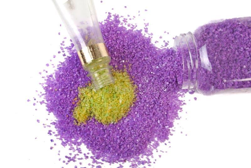 salt havstea för grön lavendel royaltyfri fotografi