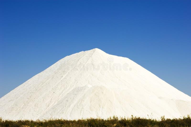 Salt hill heap in Portugal