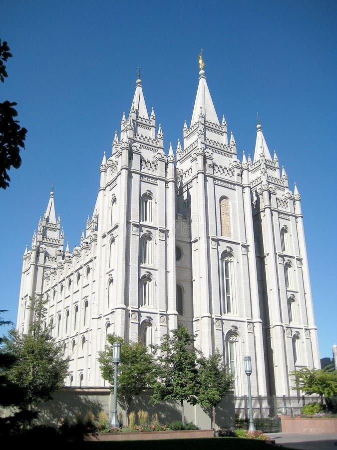 Salt Lake świątynia & x28; Utah& x29; obrazy royalty free