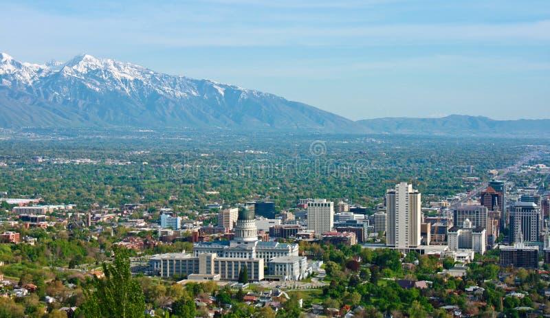 Salt Lake City fotos de archivo libres de regalías
