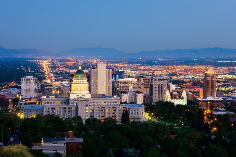 Salt Lake City arkivbild
