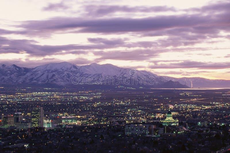 Salt Lake City, stockfoto