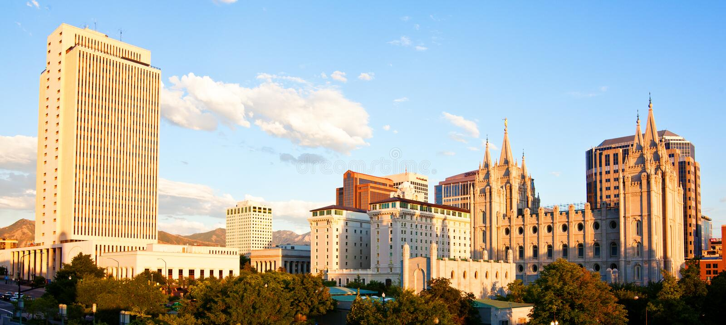 Salt Lake City imagen de archivo libre de regalías