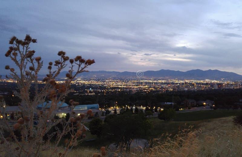 Salt Lake City royalty-vrije stock foto's