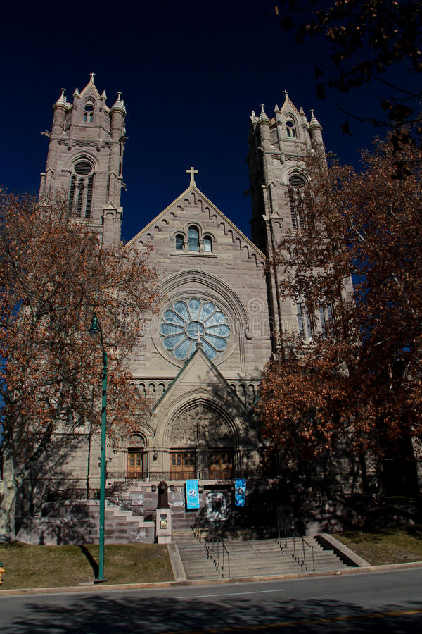 Salt Lake City: The Cathedral of the Madeleine royalty free stock image