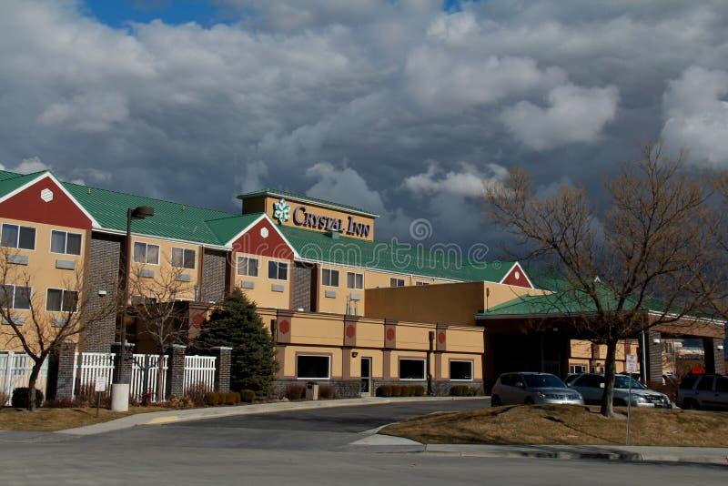 Salt Lake City: Crystal Inn stockbild