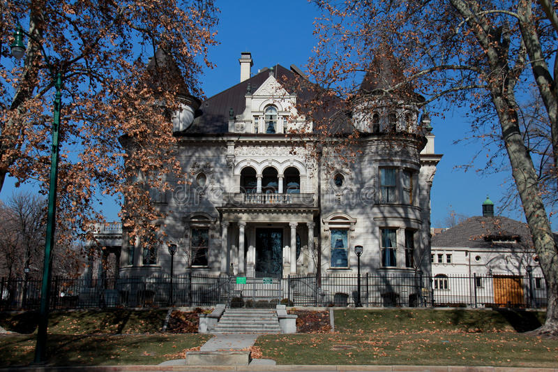 Salt Lake City: Governor's Mansion stock photos