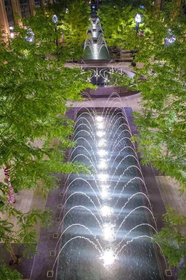 Salt Lake City, insenatura della città fotografia stock libera da diritti
