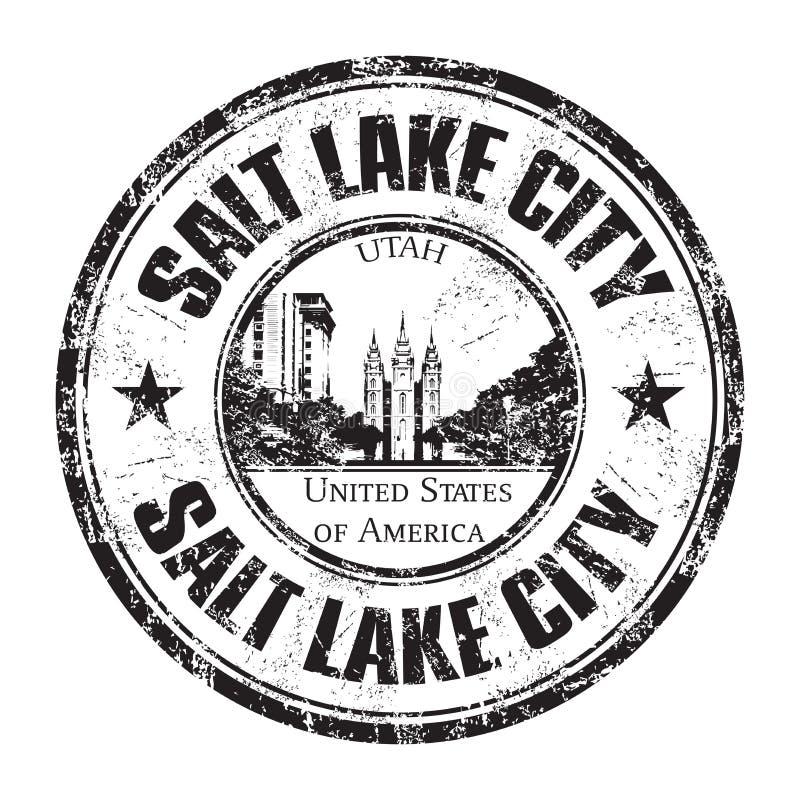 Salt Lake City rubber stamp stock images