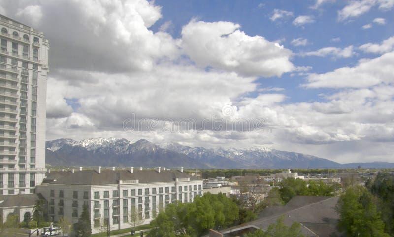 Salt Lake City Utah royalty-vrije stock afbeelding