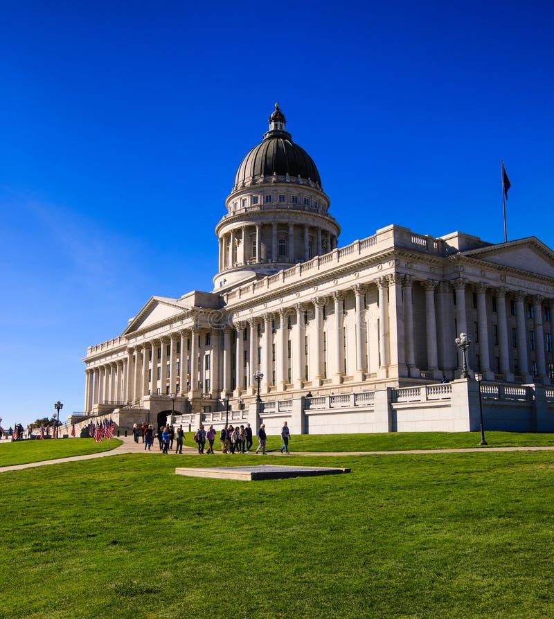 Salt Lake City, Utah, capitol immagine stock libera da diritti