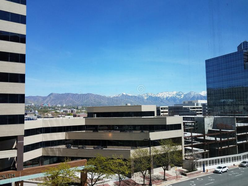 Salt Lake City royalty free stock photos