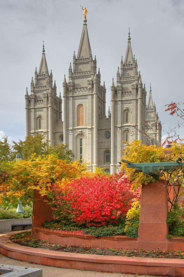 Salt Lake-Tempel lizenzfreie stockfotografie