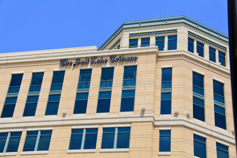 Salt Lake Tribune royalty free stock images
