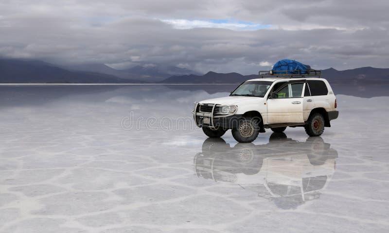 Salt Lake Uyuni Bolívia fotos de stock royalty free